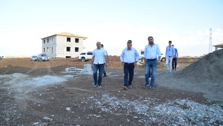 Ağrı'da Yeni Şehir Mezarlığı Yapımı Aralıksız Devam Ediyor