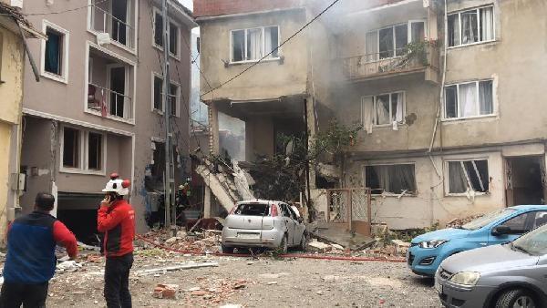 Bursa-Maksem'de Doğalgaz Patlaması 1'i Ağır 6 Yaralı