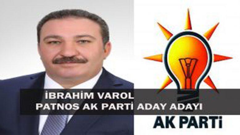 PATNOS AK PARTİ ADAY ADAYI İBRAHİM VAROL