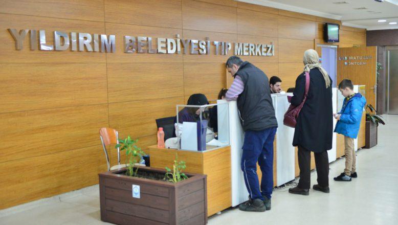 Bursa/ Yıldırım Tıp Merkezi Vatandaşa Şifa Oluyor