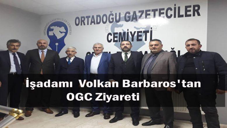 Ağrı'lı İşadamı Volkan Barbaros'tan, OGC'ye Ziyaret!