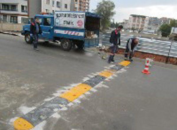 Bursa-Yıldırım'da Trafiği Düzenleyen Uygulamalar