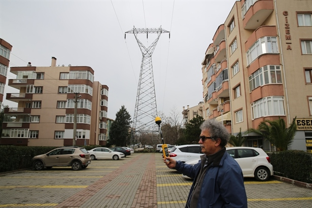 Bursa-Nilüfer'de Elektromanyetik kirlilik alarm veriyor