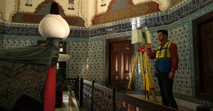 Bursa'da Tarihe lazerli koruma kalkanı