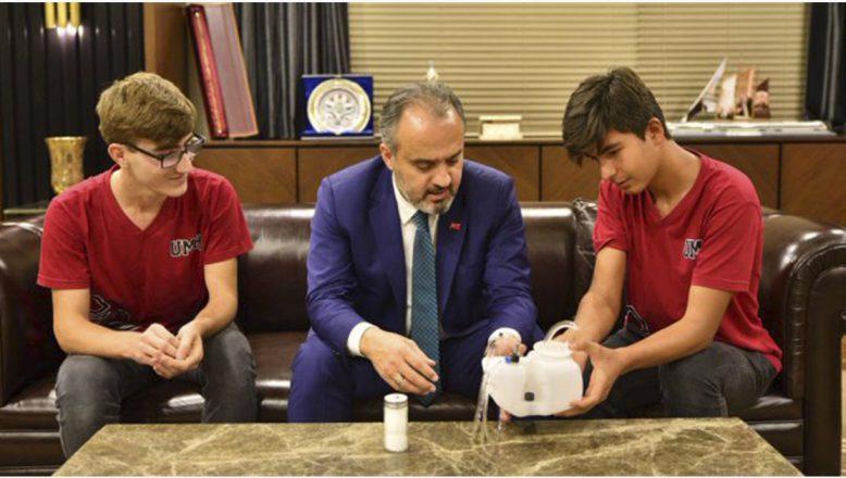 Geleceğin Mucitleri,Meksika'da Türkiye'yi temsil edecekler