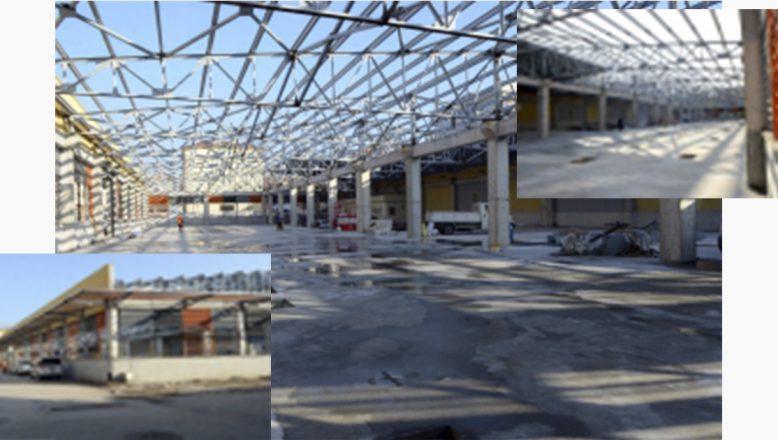 Bursa-Osmangazi'de Pazarlar Modernleşiyor
