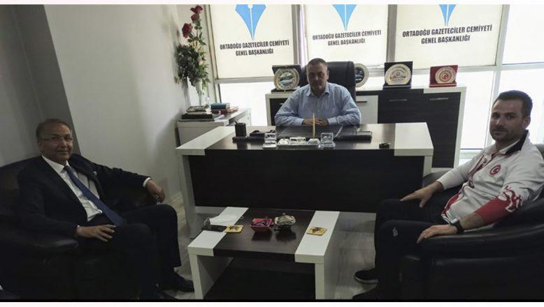 TTF Başkanı Cengiz Durmuş'tan OGC'ye Ziyaret