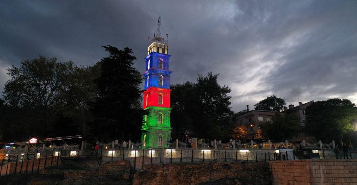 Bursa'dan Azerbaycan'a güçlü destek