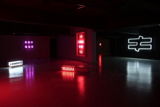 Nilüfer'de Sergileniyor Neon ve Işığın Çağdaş Sanata Yansıması